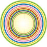 Regnbågecirkel Vektor Illustrationer