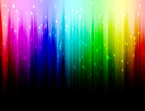 Regnbågefärgbakgrund Arkivbilder