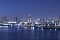 Regnbågehamn Long Beach CA Royaltyfri Bild