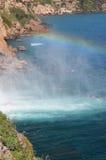 regnbågehavsvattenfall Royaltyfria Foton