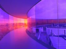 Regnbågekorridor Arkivbild