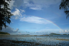 Regnbågen arkivfoton