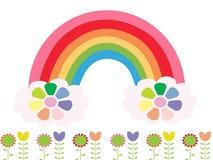 Regnbågen färgar Fotografering för Bildbyråer