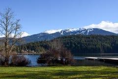 Regnbågen parkerar i Whistler, British Columbia fotografering för bildbyråer
