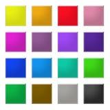 regnbågerengöringsduk för 4 knappar Arkivbilder