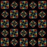 Regnbågespiralmodell Royaltyfri Fotografi