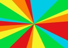 Regnbågevektortriangel, geometrisk abstrakt illustration, bruk för tapetbakgrund, rengöringsdukanvändning, affisch Royaltyfri Foto