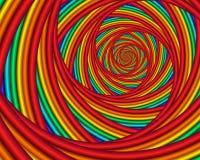 regnbågevirvel stock illustrationer