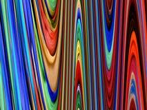 regnbågewaves arkivfoto