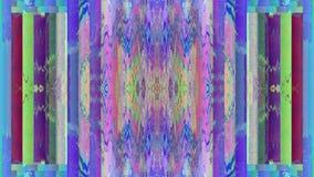 Regnbågsskimrande bakgrund för färgrikt geometriskt science fictionmode lager videofilmer