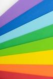Regnbågsskimrande färger av cell- gummi royaltyfri bild