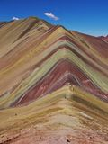 Regnb?geberg Peru arkivfoto