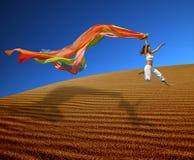regnbågekvinna Fotografering för Bildbyråer