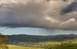 regndusch Arkivbilder