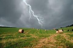Regnen des Himmels Stockfotografie