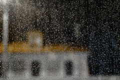 Regnen Sie Tropfen lizenzfreies stockfoto