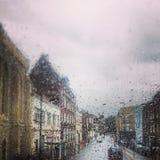 Regnen von Seele Stockfoto