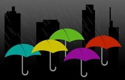 Regnen von Tagen Stockbild