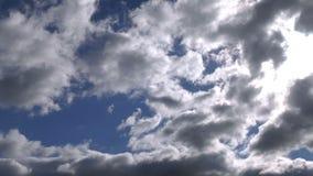 Regnerische WolkenZeitspanne stock video footage