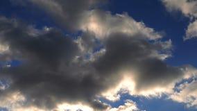 Regnerische WolkenZeitspanne stock video