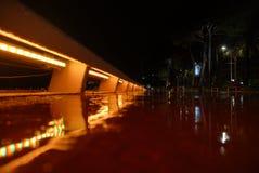 Regnerischer Abend Stockbilder
