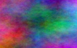 Regnerischer Regenbogentraum gehen in Erfüllung Stockbild