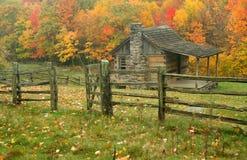 Regnerischer Tag im Herbst Stockbild