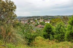 Regnerischer Tag im Park Wilson australien Lizenzfreie Stockbilder