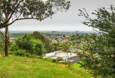 Regnerischer Tag im Park Wilson australien Stockfotografie