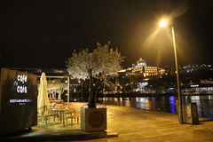 Regnerischer Tag in Porto - Portugal Lizenzfreies Stockfoto