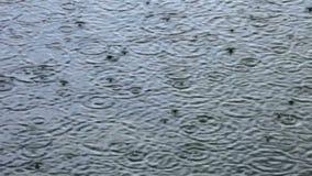 Regnerisches Wetter stock footage