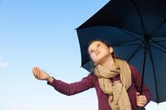 Regnet es? Lizenzfreies Stockbild