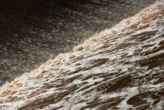 regnflod Arkivfoton
