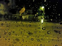 Regnfrysning Arkivfoton