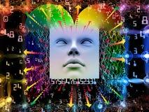 Regni dell'essere umano eccellente AI Fotografie Stock Libere da Diritti