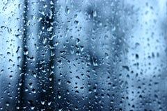 Regnig afton Arkivfoton