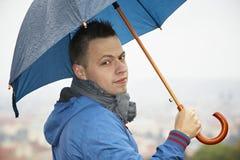 Regnig dag Royaltyfria Foton
