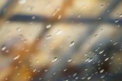 regnig dag Arkivfoton