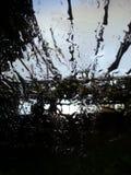 Regnig dag i Durban Arkivfoto