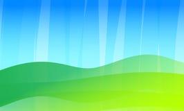 regnig sommar för bakgrundsbstract stock illustrationer