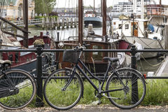 Regnig vårdag i Rotterdam Royaltyfri Fotografi