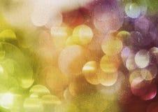 Regniga ljus Arkivbild