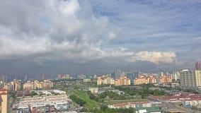 Regniga moln Arkivbilder
