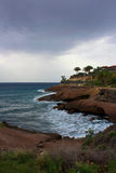 Regniga Tenerife Arkivfoto