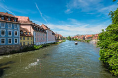 Regnitz river or Royalty Free Stock Photos