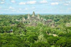 Regno di Byon Tample Angkor Wat Siem Reap Cambogia del tample di signora del tempio dodici di Phoun di sedere del terrazzo dell'e Immagini Stock