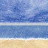 Regnstormbakgrunder i molnigt väder Royaltyfri Bild