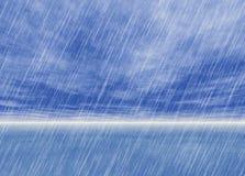 Regnstormbakgrunder i molnigt väder royaltyfri illustrationer