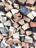 Regola di terza su legno Fotografie Stock