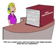 Regolamenti complessi Immagine Stock